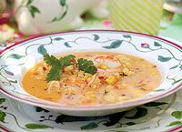 Mexican Shrimp and Corn Soup Recipe