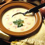 Czech Creamed Potato Soup