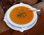 Ginger Carrot and Orange Soup