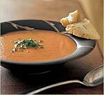 Fresh Tomato Soup with Basil